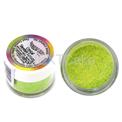 Блёстки Rainbow Crystal Sherbet lemon